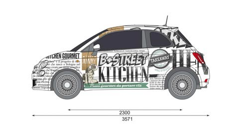 Brand car per b+street