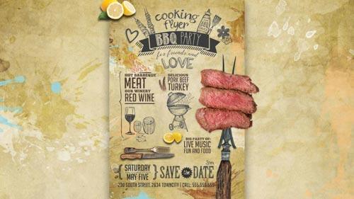 Flyer design per BBQ