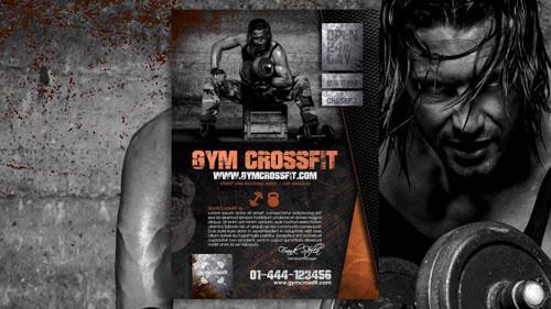 Flyer per crossfit